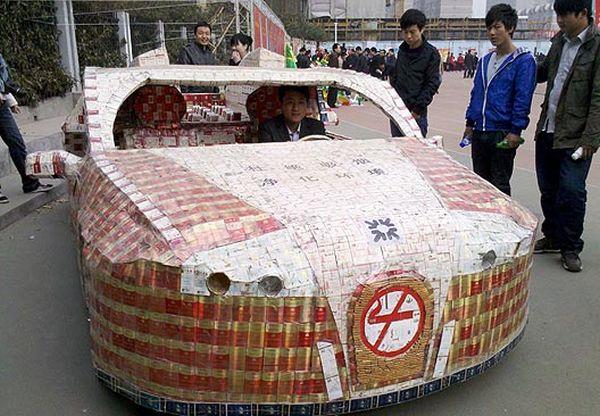 10,280 cigarette packs car