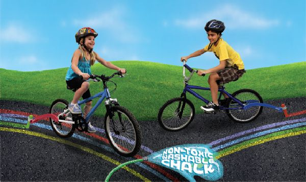 Chalktrail - awesome toys for bike and scooter!