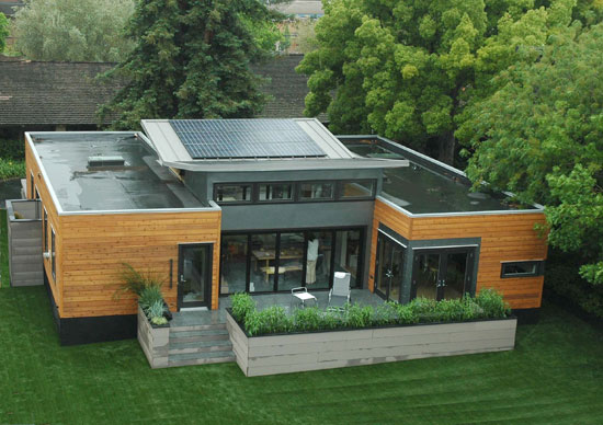 Elements in a green home