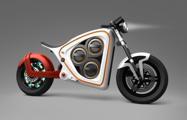 Frog Rana 2 electric motorcycle concept
