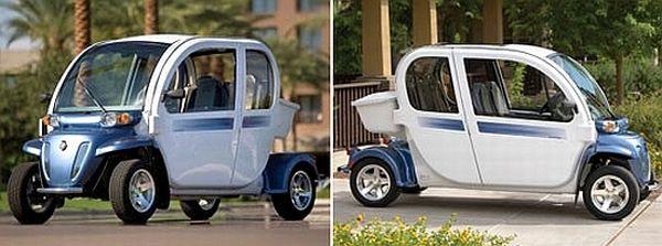 GEM's neighborhood electric vehicle