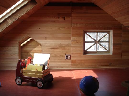 Green attic
