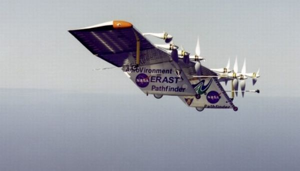 Helios solar-powered aircraft