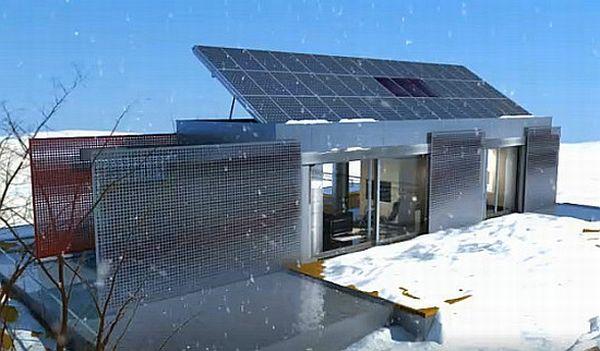 Lumenhaus  self powered home