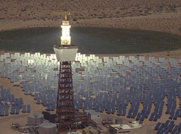 Massive New Solar Power Tower Set