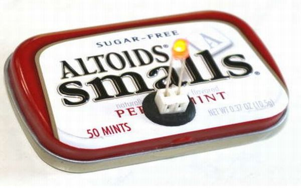 Recycling Altoids Tins