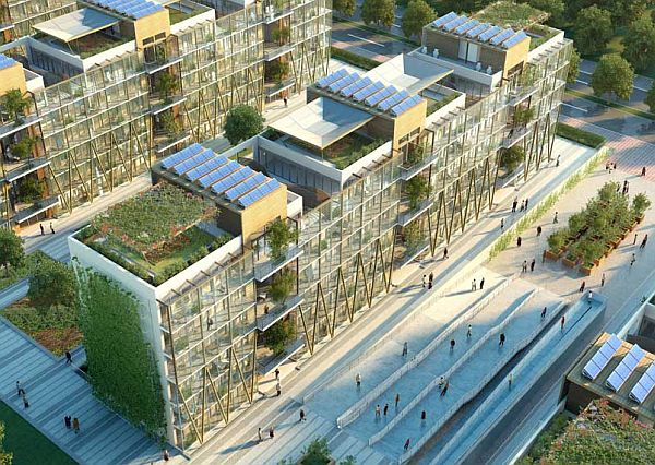 Nanjing Eco Housing: An eco friendly & low carbon apartment ...