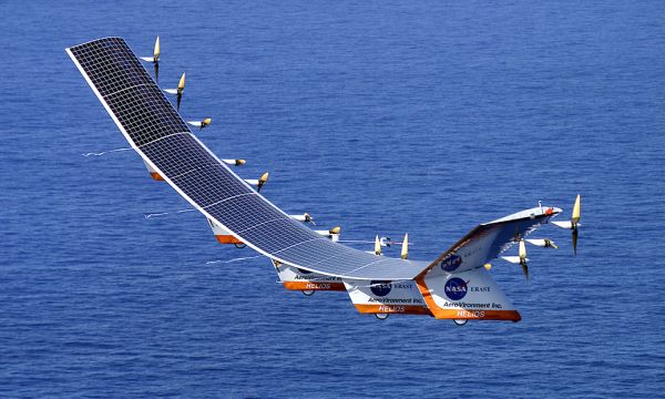 Pathfinder solar-powered aircraft