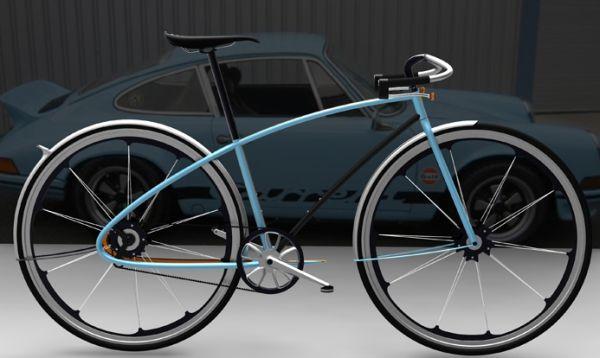 Porsche Bike by David Schultz