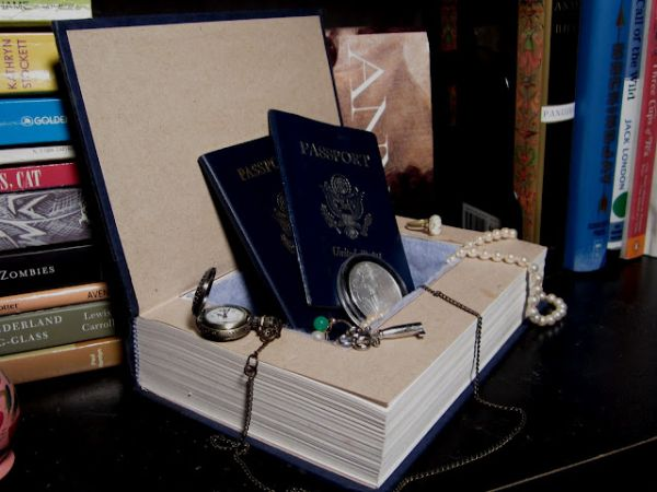 Secret Book Safe