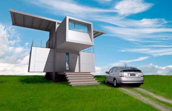 Self powered House by Specht Harpman