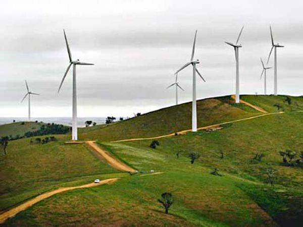 Wind farms may have warming effect