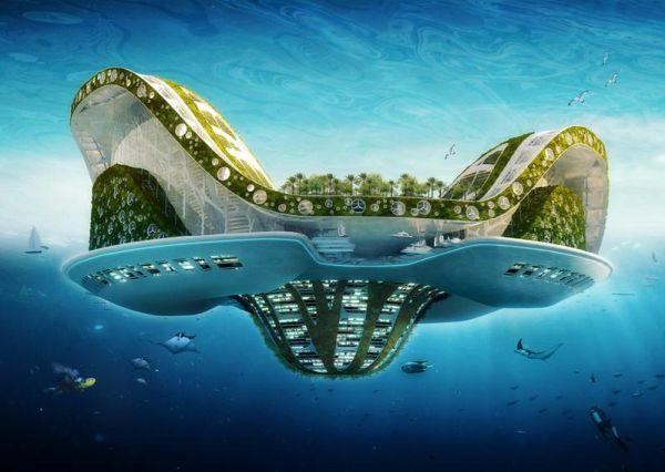 Lilypad by Vincent Callebaut