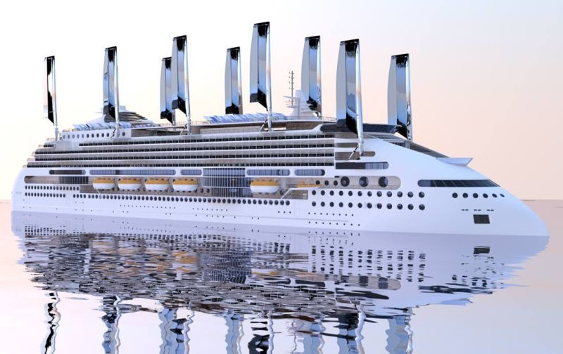 Peace Boat is creating a ship, called the Ecoship