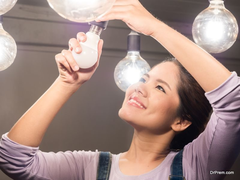 LEDs are more energy efficient