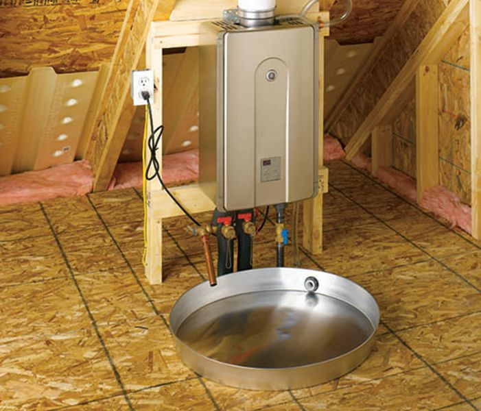Water-Heater-in-the-Attic