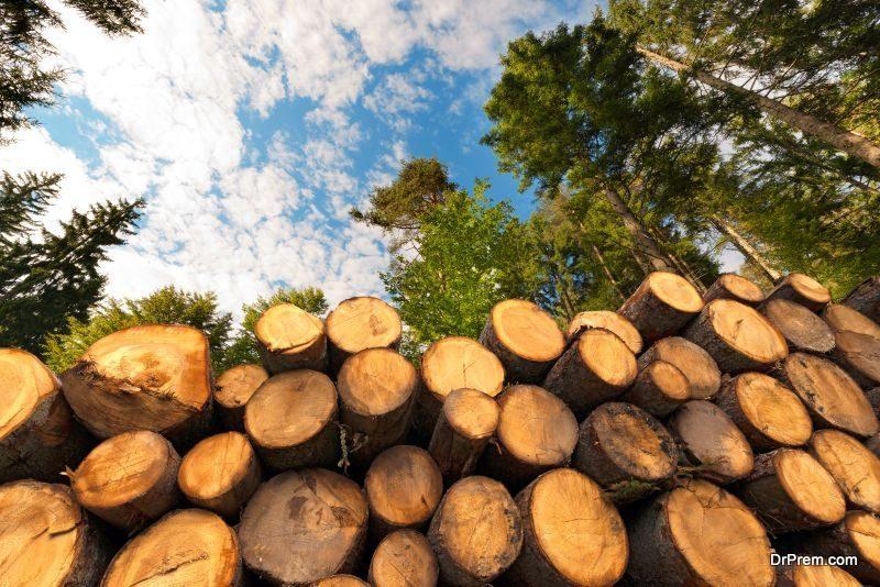 felling of trees