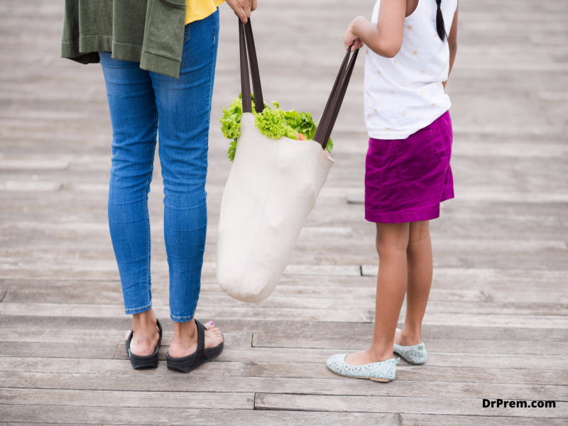 Carry your own reusable bag