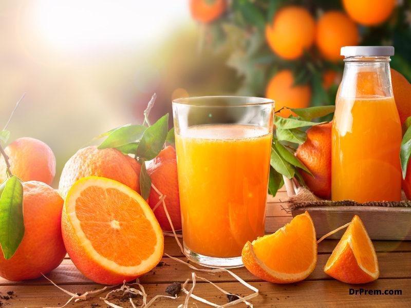 Go for fruits over bottled juice