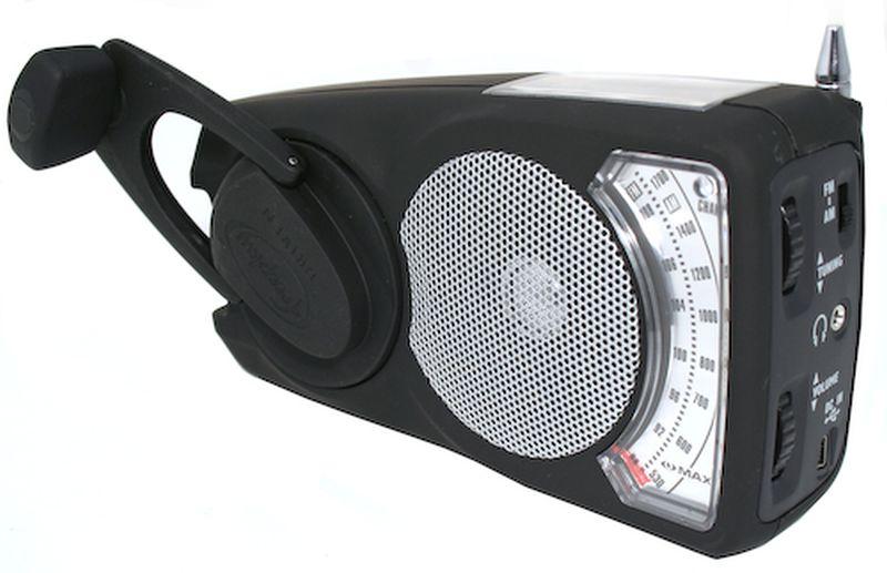 The Eye Max Wind-Up Solar Powered Radio