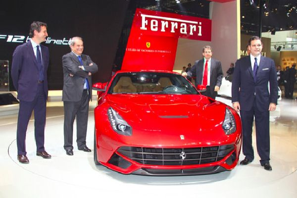 2012 Beijing: Ferrari HY-KERS Powertrain