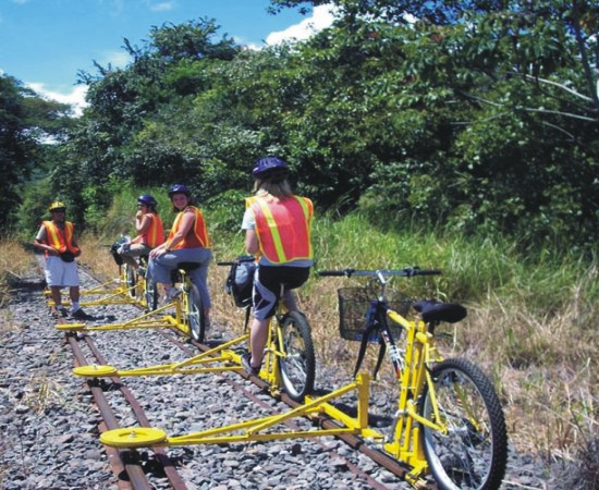 Cycling Support Rail