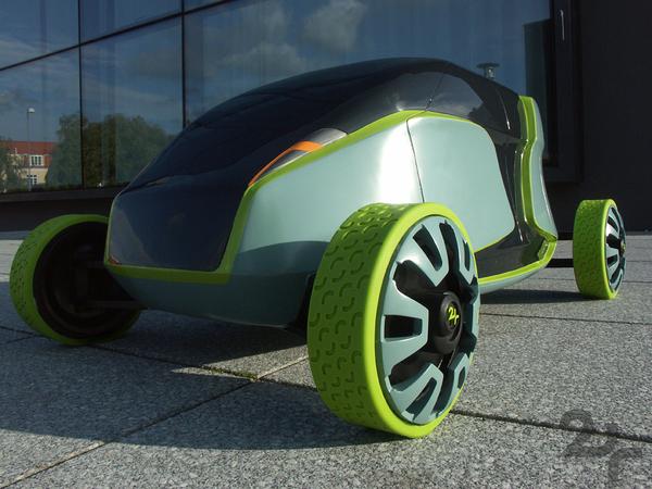 2+ EV-Concept Car