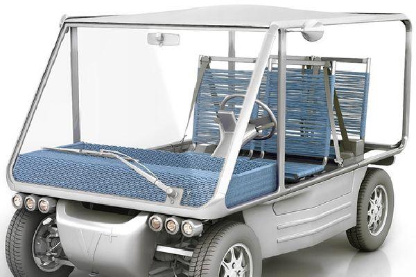A Starck-Looking Electric Car for Fun