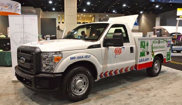 AAA adds plug-in vehicle charging stations to TripTik map services