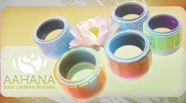Aahana Solar Lantern Bracelet