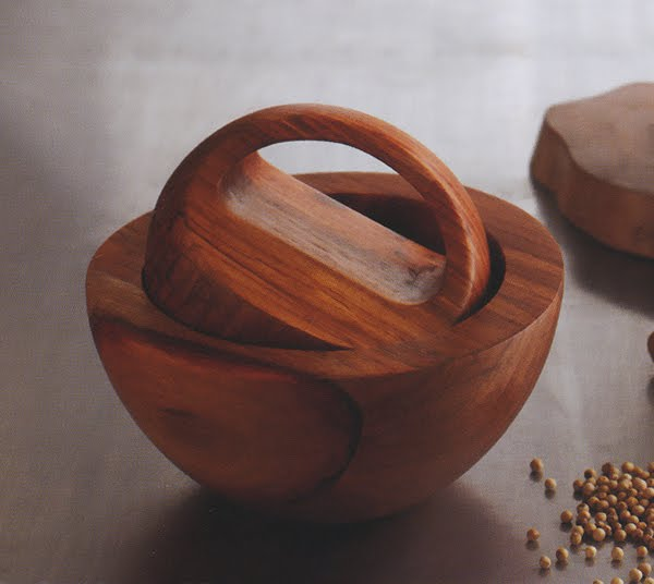 Acacia Mortar and Pestle
