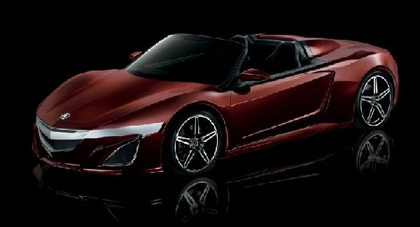 Acura NSX Roadster Previewed As Avengers Movie Prop