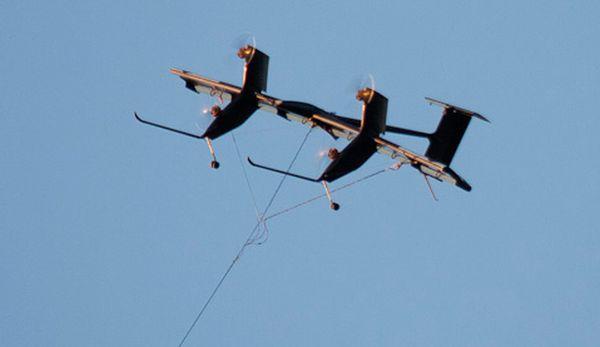 Airborne windmills