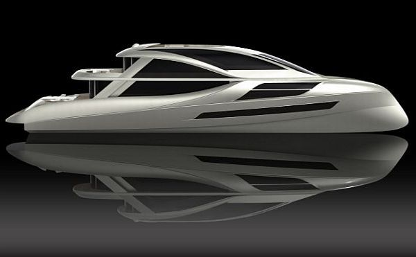 Aliz green yacht