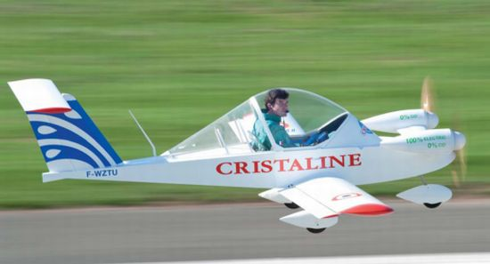 all electric cri cri airplane 2