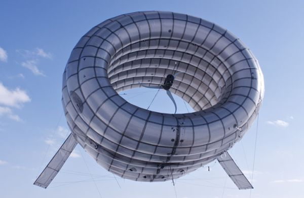 Altaeros balloon boosts wind turbine power