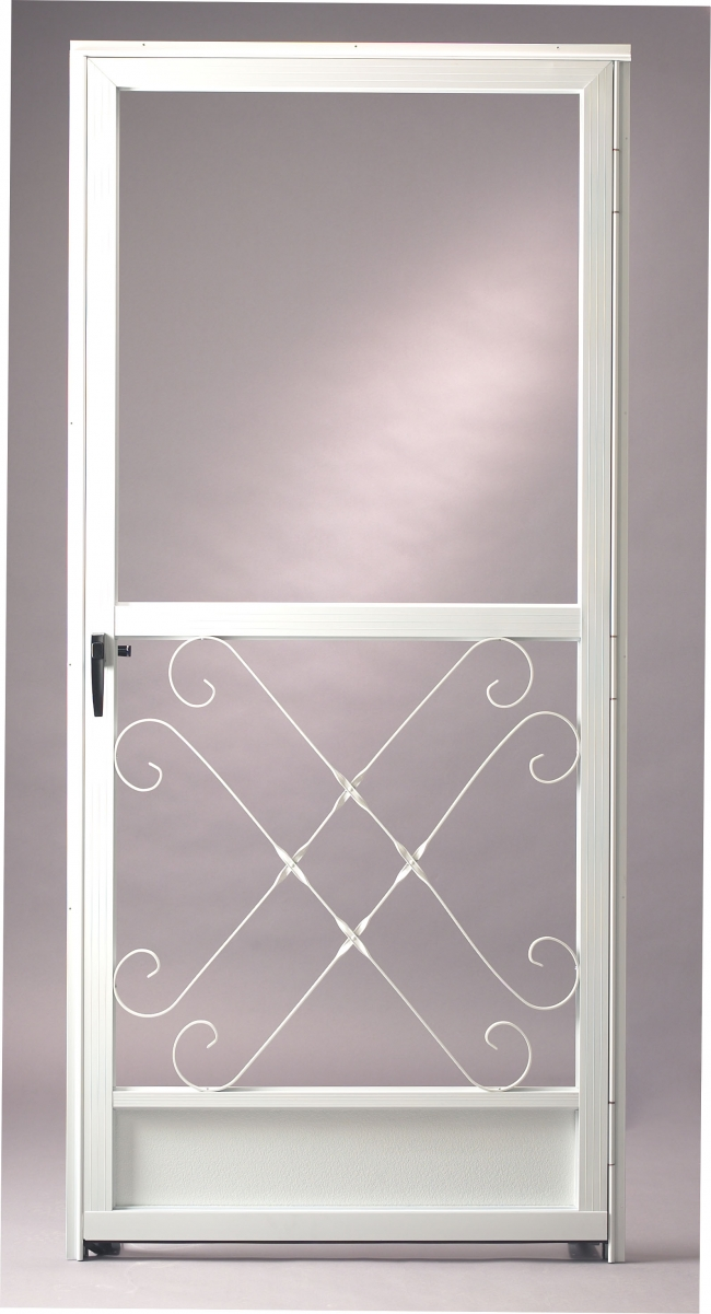 Aluminium screen door