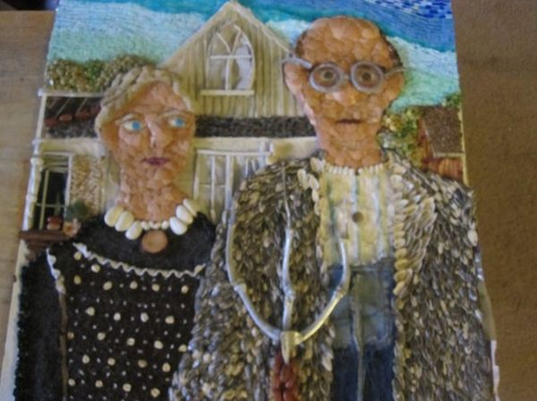 American Gothic Recycled Original