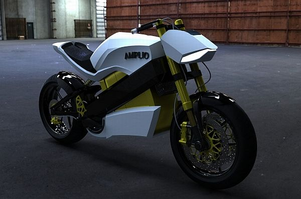 Amplio Instant Range Extension Motorcycle