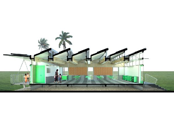Modular Classroom Arrangement ~ Green classrooms for thinkers of the future ecofriend