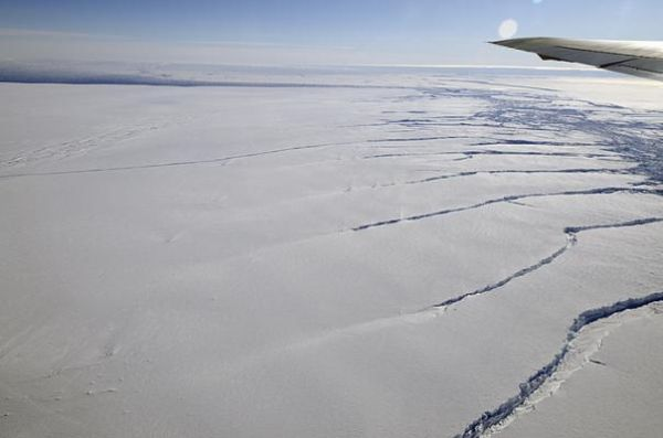 Antarctic ice sheets losing their grip
