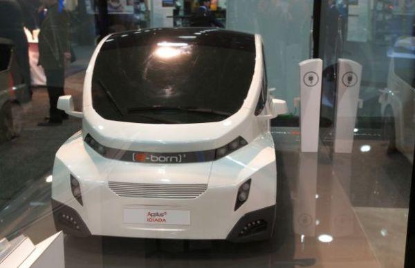 Applus Idiada E-Born3 electric vehicle concept model