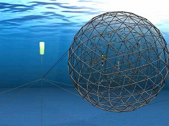 Eco tech aquapod helps oft move fish farms to open oceans for Fish farms near me