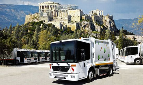 athens cng trucks from mercedes benz
