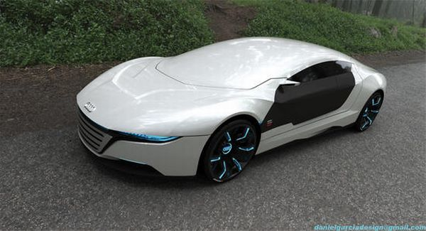 Audi A9 Hybrid concept