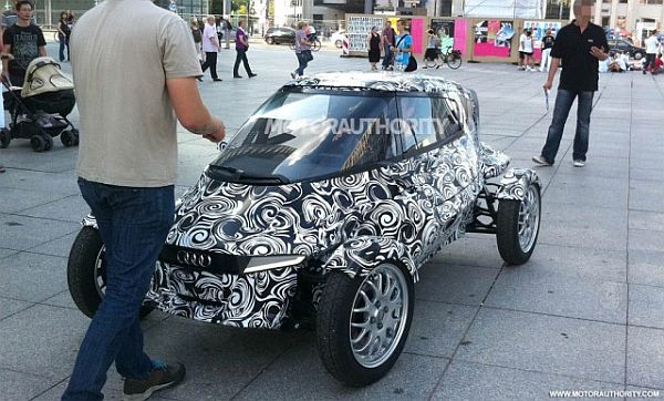 Audi E1 E-Tron