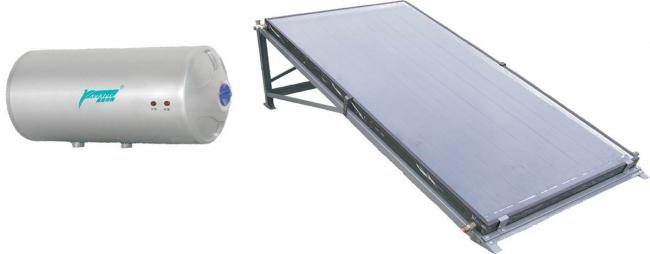 Auklet Solar water heater