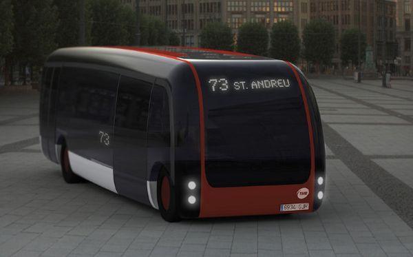 B2us hybrid bus concept