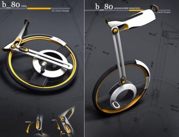 b_80  Unicycle