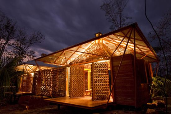 bamboo house 1